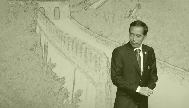 Economic Pledges and Performance Tracking Jokowi's promises